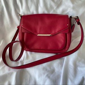 Coach Taylor Mini Flap Crossbody Red Raspberry Bag